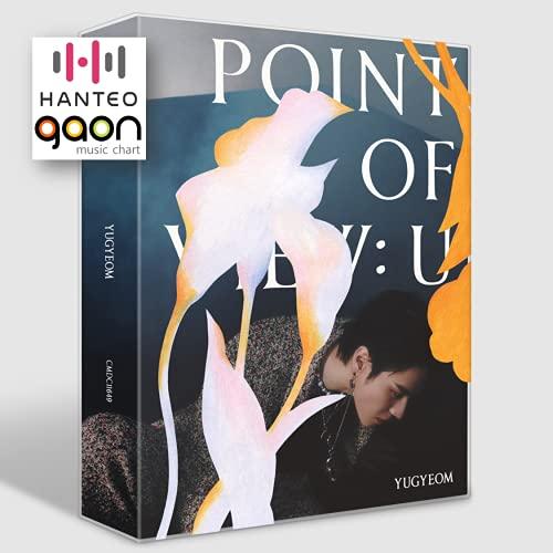 GOT7 Yugyeom - Point of View: U (EP Album) [Pre Order] CD+Photobook+Postcard+Others with BolsVos K-POP Webzine (9p), Decorative Stickers, Photocards
