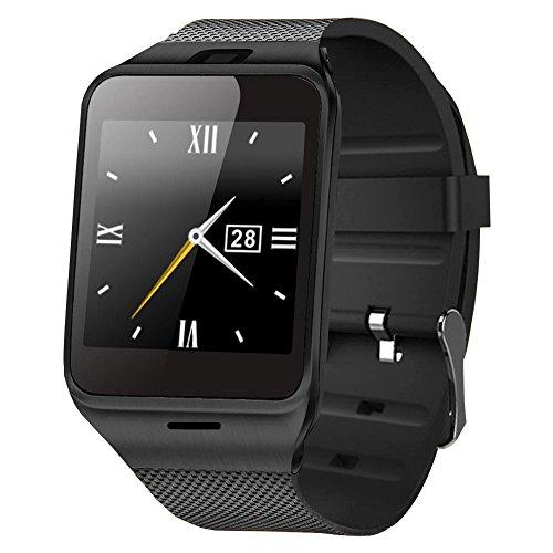 Dreamerd Smart Watch,Bluetooth Smartwatch Intelligente Orologio Da Polso Telefono con Slot per Scheda SIM/TF per for iPhone, Android, Samsung, Galaxy Note, Nexus, HTC, Sony