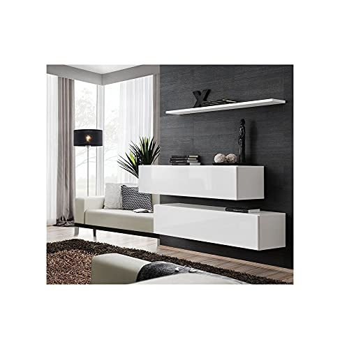 ASM Ensemble TV - 3 éléments - Blanc
