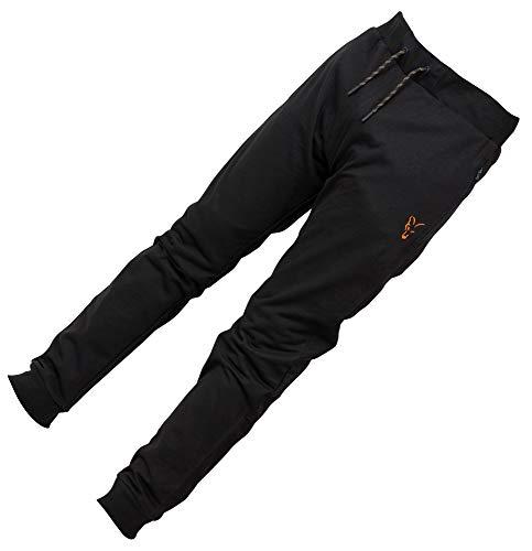 Fox Collection Black Orange LW Jogger - Hose, Größe:XXXL