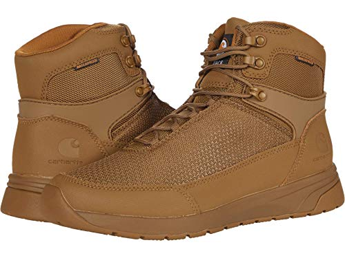 Carhartt Men's Force 3' Oxford Nano Composite Toe Cma3421 Industrial Boot, Black Tectuff & Grey 1260d Nylon, numeric_10