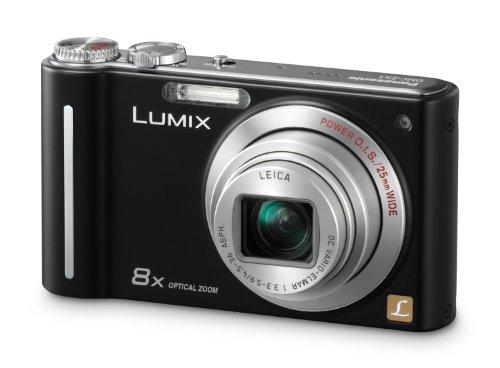 Panasonic LUMIX DMC-ZX1 EG-K Digitalkamera (12 Megapixel, 8-fach opt. Zoom, 6,9 cm (2,7 Zoll) Display, Bildstabilisator) schwarz