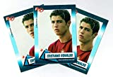 3) Cristiano Ronaldo 2004 Rookie Review #94 Card Lot Manchester United/Portugal. rookie card picture