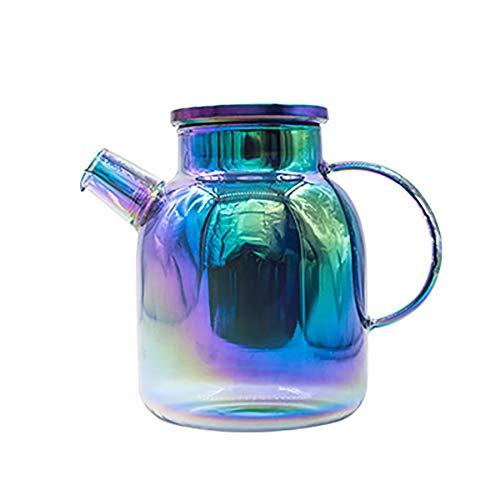SGGMRR Gepersonaliseerde huishoudelijke koud water fles glas theepot/hoge temperatuur explosieveilige belt kan set sap kan/huis, hotel, restaurant, bedrijf, school