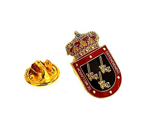 Gemelolandia | Pin de solapa Veteranos de las Fuerzas Armadas Españolas 22mm | Pines Originales Para Regalar | Para las Camisas, la Ropa o para tu Mochila | Detalles Divertidos