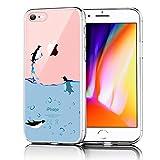 Verco Funda para iPhone 6s, Delgada Case para Apple iPhone 6/6s Carcasa de Silicona Funda, Anti- Arañazos Transparente, 4,7 Pulgadas
