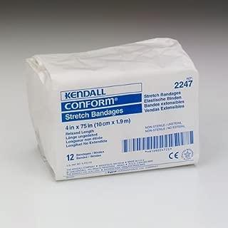Kendall Conform Stretch Bandage 4' X 75' Nonsterile - Model 2247 - Bag of 12
