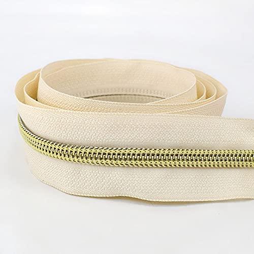 3Meters Nueva 5 # Cremallera de nylon para coser DIY Zip Ropa de extremo abierto Cremalleras Deportivas Abrigo Bolsa Ropa Accesorios-ZA030-50,5 #