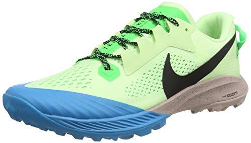 Nike Herren Air Zoom Terra Kiger 6 Running Shoe, Barely Volt/Black-Poison Green, 42.5 EU