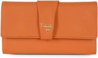 Baggit Women's Synthetic Wallet (Orange) (Lw Smocky)