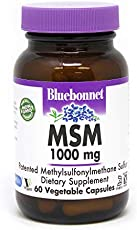 BlueBonnet MSM Supplement, 60 Vcaps