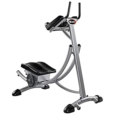 Fan-Ling AbCoaster MAX Ab Machine Exercise Equipment for Home Gym, Abdominal Crunch Coaster Fitness Equipment Body Exercise Workout Max Core Work Out, Fitness Equipment for All Levels