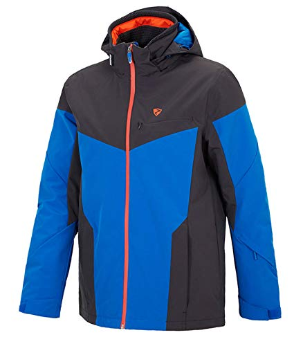 Ziener Toccoa Ski Jacket - True Blue/Flint