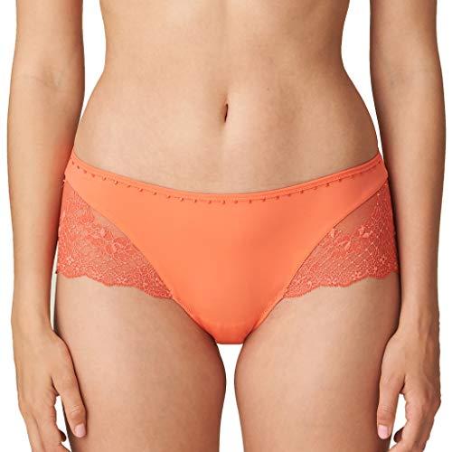Marie Jo - Damen - Pearl - Shorty Slip - mit flachen Nächten und extra viel edler Spitze (38, Living Coral)