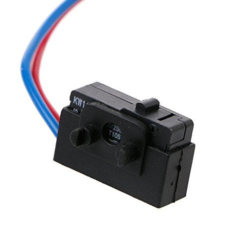 Xuniu Sensor de Puerta Derecha Cerradura Micro Interruptor para Octavia Fabia Superb Passat B5 Bora Golf 4 MK4