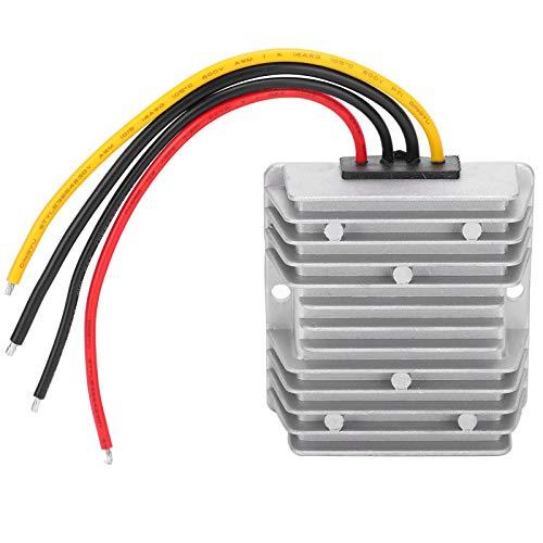 Yoidesu Convertidor de Corriente CC de 9‑40 V a 24 V, módulo Adaptador convertidor de Corriente CC Resistente al Agua WG9-40S2406, regulador de Voltaje