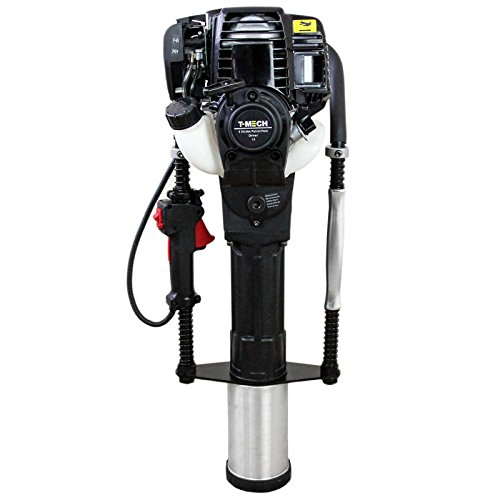 4 Takt Benzin Motor Pfahlramme Pfostenramme Pfostentreiber Zaunbau Presslufthammer 900W