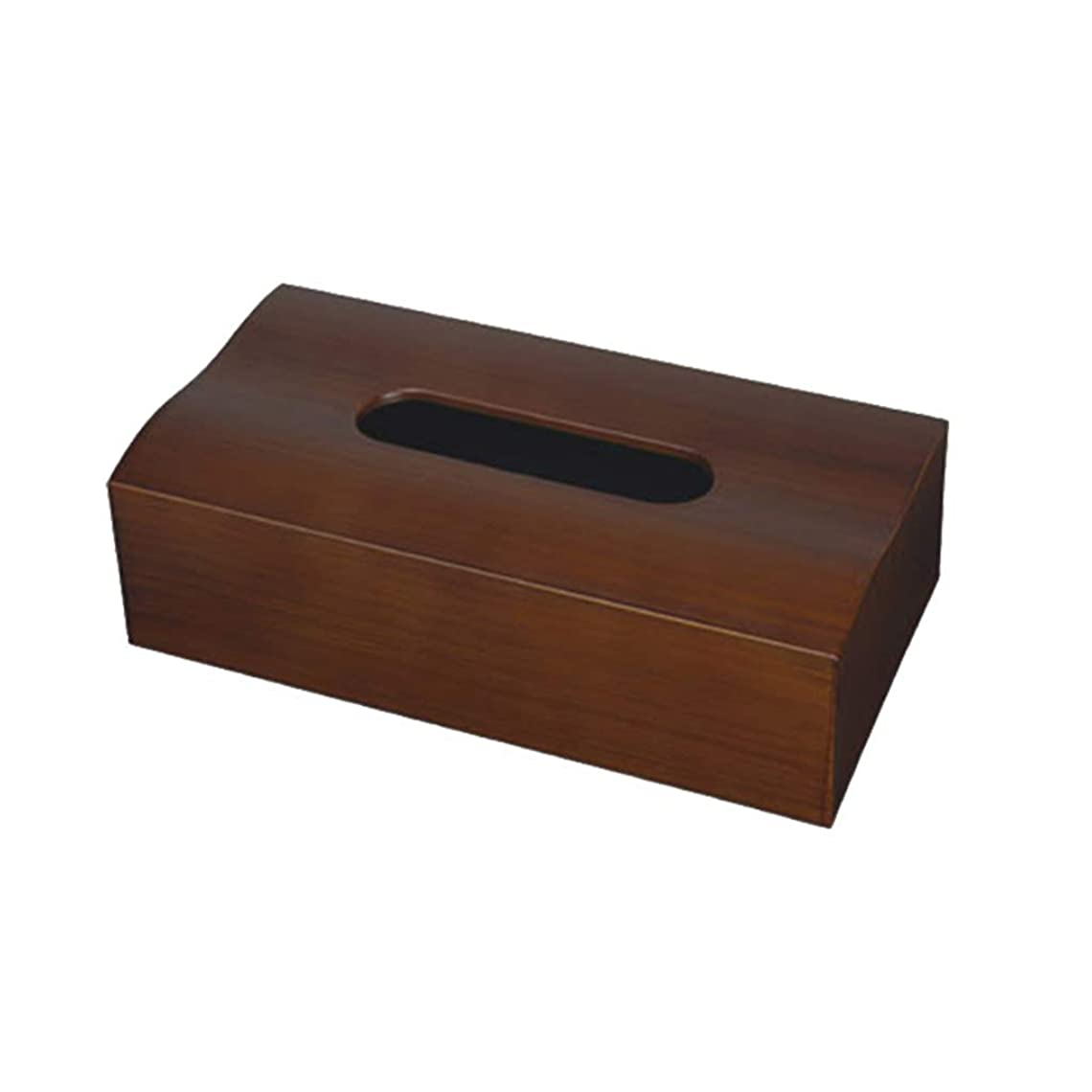ジャーナルヒープ睡眠GWM ポータブルティッシュボックスホルダー長方形/ティッシュ収納カバーケース/ナプキンディスペンサー、自宅用ホテルカーギフト、ブラウン