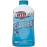 HTH Super Clarifier Swimming Pool Cleaner (32 Fl Oz, 67023)