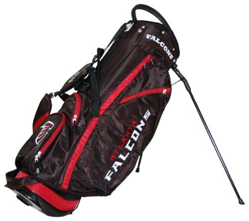 Buy Discount Team Golf NFL New Orleans Saints  Fairway Golf Stand Bag, Lightweight, 14-way Top, Spri...
