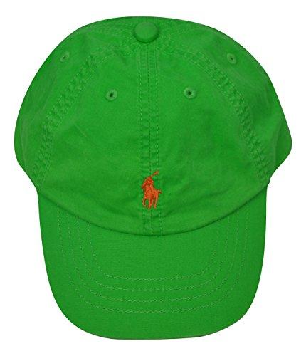 Polo Ralph Lauren Gorra con visera para niño, talla 2/4 años, color verde