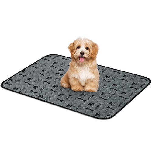 Trainingsunterlagen für Hunde -3 Größen Wasserdicht Pee Pads, Waschbare wiederverwendbar schnell absorbierend, Unterlage für Welpenurin für Haustiere und Welpen, für Welpen/Hunde/Katzen(S)
