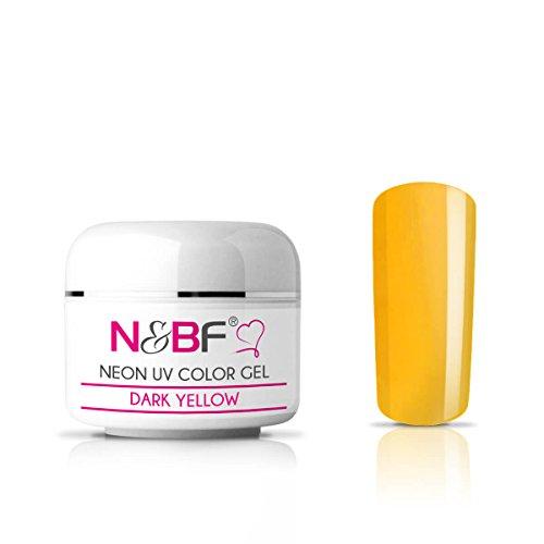 Gel couleur Fluo Dark Yellow 5 ml-Premium Professional UV Color Gel