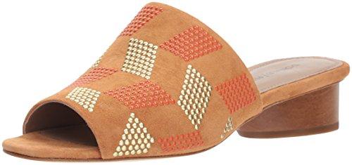 Donald J Pliner Women's RIMINISP Slide Sandal, Fawn, 9 Medium US