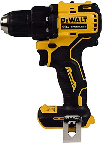 De-Walt DCD708B 20V Max 1/2' Atomic Compact 2 Speed Brushless Drill Driver (Bare Tool)