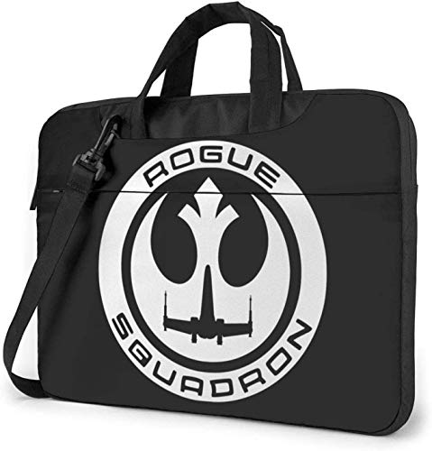 Mwht Rogue Squadron Laptop Bag Shockproof Briefcase Shoulder Bags Carrying Case Laptop 15.6 Inch