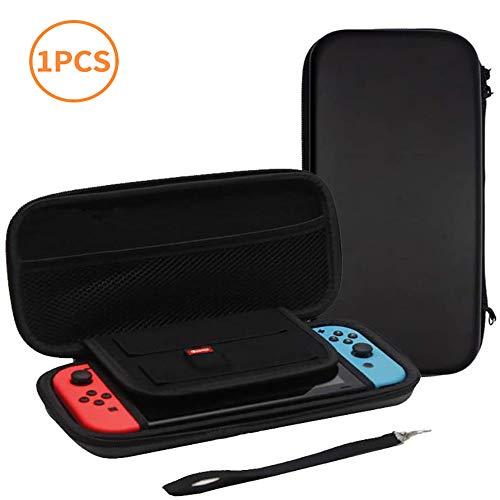 Nintendo switch ケース NAIYAA 任天堂スイッチ ケースカード収納 EVAポーチ 防水性 撥水性 耐衝撃 大容量 ...