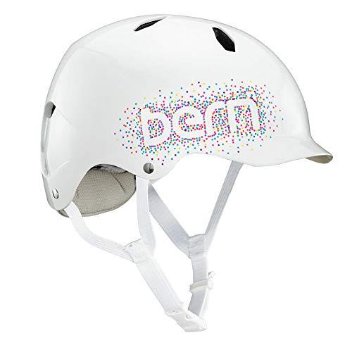 (バーン) bern ヘルメット 子ども用 キッズ用 自転車 おしゃれ かわいい 軽い バイク 幼児 三輪車 幼児用ヘルメット 子供用ヘルメット(M-Lサイズ,ホワイトコンフェティ)