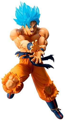 Dragon Ball Estatua PVC Ichibansho Super Saiyan God Super Saiyan Son Goku 16 cm