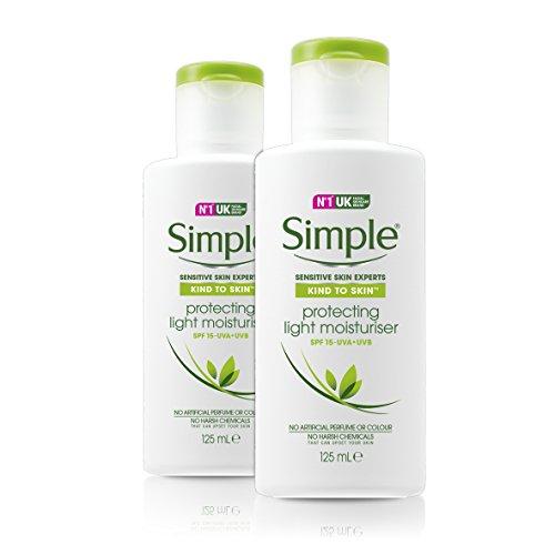 Simple Schützende Feuchtigkeitscreme, 2er Pack(2 x 125 ml)
