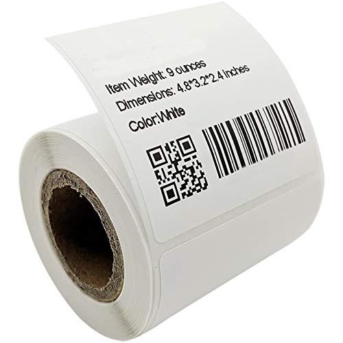 NETUM - Papel autoadhesivo multiusos compatible con impresora de etiquetas NETUM G5, 1 rollo de 180...