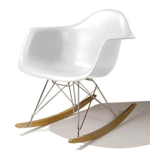 【正規輸入品】Herman Miller ハーマンミラー Eames Shell Arm Chair イームズ シェルアームチェア RAR (メープルベース)/ホワイトRAR. 47 UL ZF