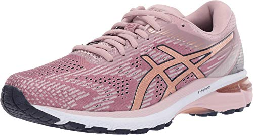 ASICS Women's GT-2000 8 Running Shoes, 6.5M, Watershed Rose/Rose Gold