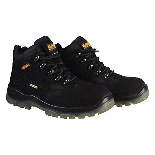 DeWALT Sympatex, botas de seguridad para hombres, negro (Black Challenger 4), 8 Reino Unido (42 UE)