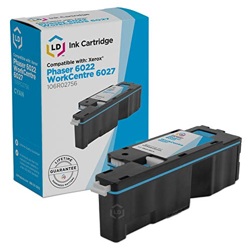 Price comparison product image LD Compatible Toner Cartridge Replacement for Xerox 106R02756 (Cyan)