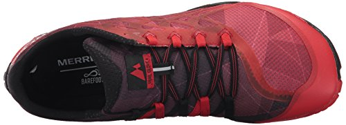 Merrell Men's Trail Glove 4 Runner, Black, 8 M US