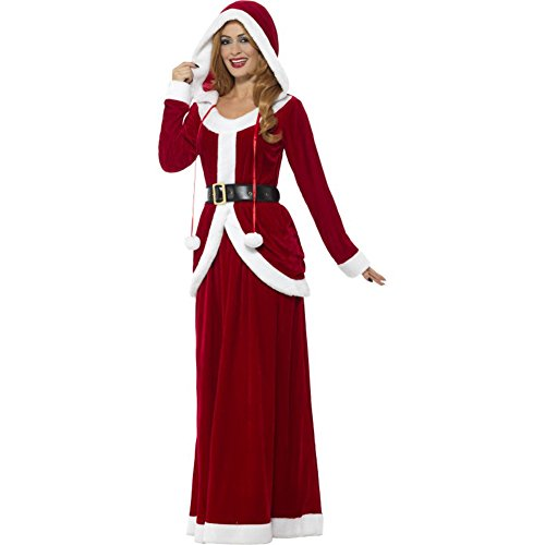 Smiffys Deluxe Ms Claus Costume