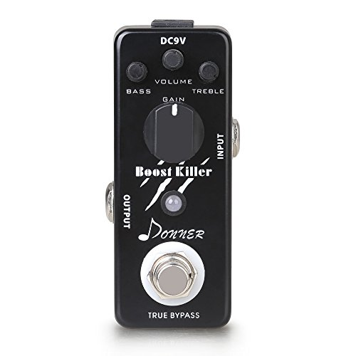 Donner Boost Killer ギター ブースター エフェクター ペダル