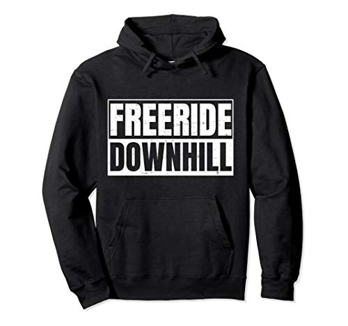 MTB Bike Downhiller Design für Freeride Downhill Biker Pullover Hoodie