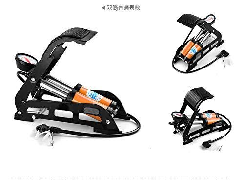 LLDKA draagbare elektrische voetpedaal, multifunctioneel, luchtpomp, voor auto, auto