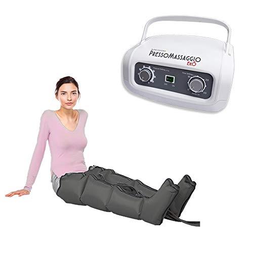 Máquina de masaje PressoMassaggio Mesis EkÓ con 2 botas pierna | Masaje intenso en las piernas