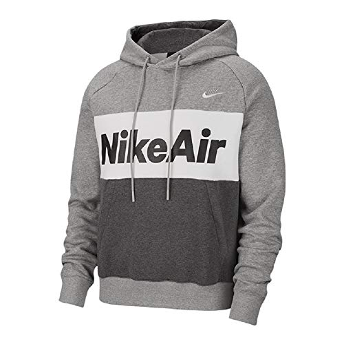 Nike Air Fleece Hoody (M, Grey/White)