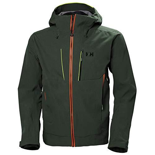 Helly Hansen Alpha Shell Jacket Chaqueta, Hombre, 964 Charcoal, L