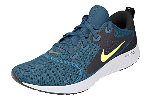 Nike Men's Legend React Running Shoes, Blue Force/Volt/Black/White (US 11.5)