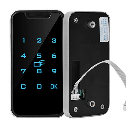 Incl. wachtwoordvergrendeling, intelligente vergrendeling, digitale RFID-wachtwoordblokkering, touch-toetsenbord, elektronische kledingkast, archiefkast-blokkering.