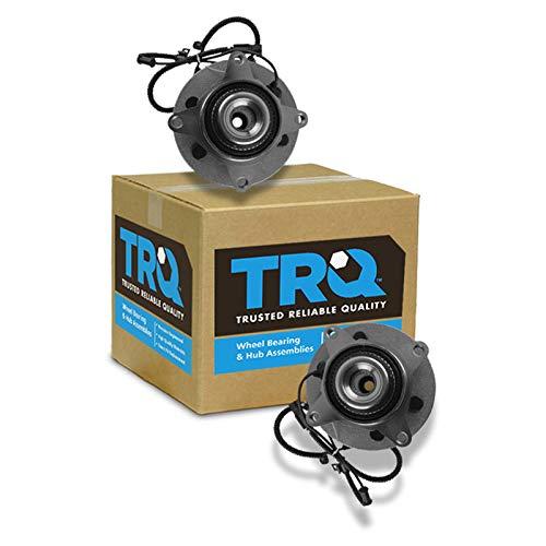 TRQ Front Wheel Bearing & Hub Assembly Driver & Passenger Side for Ford Pickup